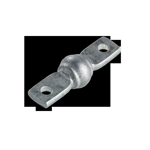 Bulged bar pin