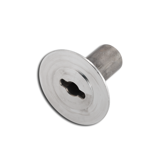 Flanged part